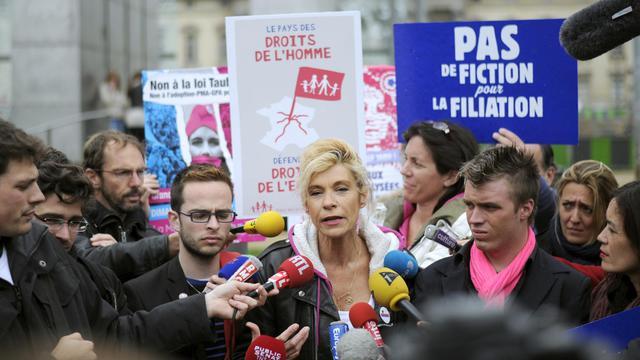 Frigide Barjot le 24 mai 2013 à Paris [Fred Dufour / AFP]