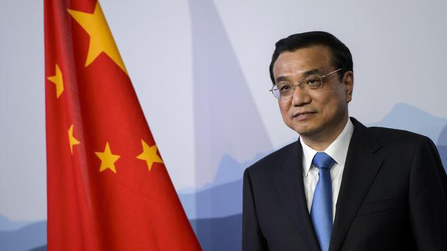 Le Premier ministre chinois Li Keqiang le 24 mai 2013 à Kehrsatz  près de Berner [Fabrice Coffrini / AFP]