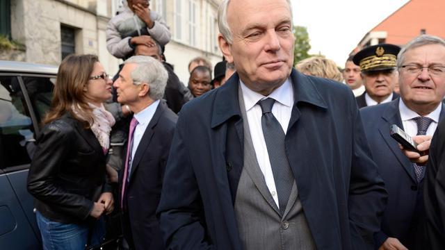 Le Premier ministre, Jean-Marc Ayrault, le 25 mai 2013 au Pré-Saint-Gervais, près de Paris [Eric Feferberg / AFP]