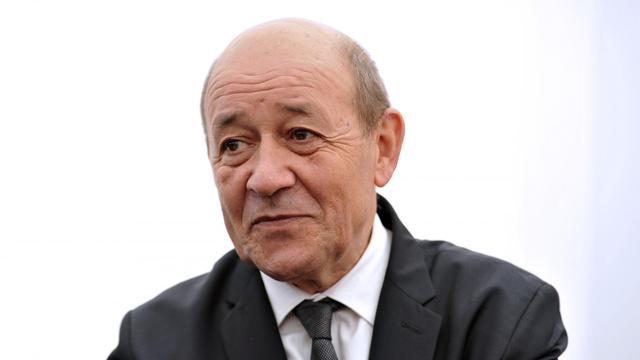 Le ministre français de la Défense, Jean-Yves Le Drian, donne une conférence de presse, le 25 mai 2013 à Salon-de-Provence [Gerard Julien / AFP/Archives]