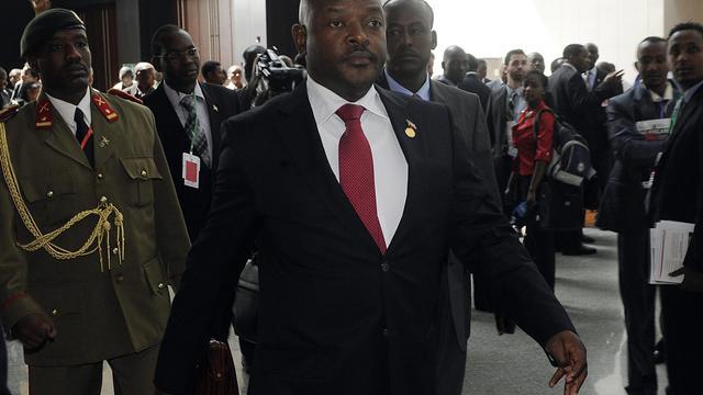 Le président du Burundi Pierre Nkurunziza, le 26 mai 2013 à Addis-Adeba [Simon Maina / AFP/Archives]