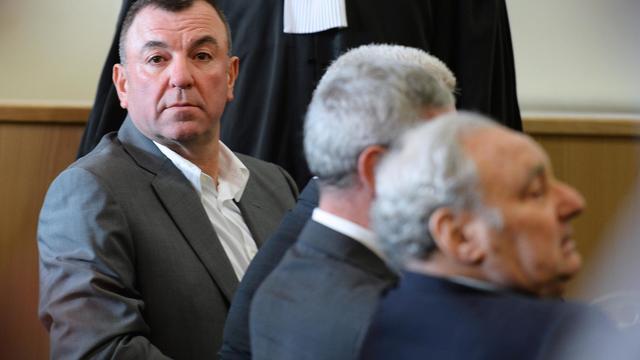Paul Lantieri, le principal prévenu au procès du cercle de jeux parisien Concorde, le 27 mai 2013 à Marseille [Gerard Julien / AFP/Archives]