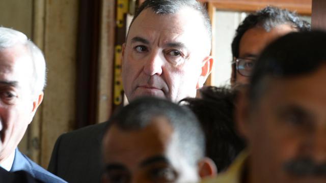 Paul Lantieri, le 27 mai 2013 au Palais de justice de Marseille [Gerard Julien / AFP/Archives]