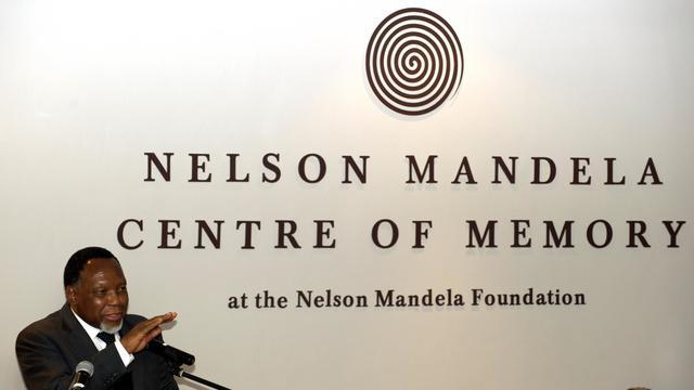 Réouverture du Centre des archives personnelles de Nelson Mandela, le 27 mai 2013 à Johannesburg [Alexander Joe / AFP]