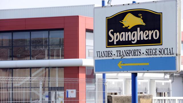L'entrée du site Spanghero à Castelnaudary (Aude), le 10 février 2013 [Remy Gabalda / AFP/Archives]