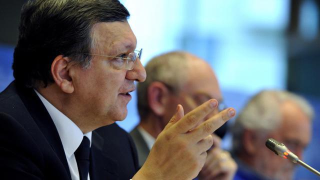 Jose Manuel Barroso le 28 mai 2013 à Bruxelles [Georges Gobet / AFP]