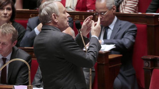 Jean-Marc Ayrault, le 28 mai 2013 à l'Assemblée [Jacques Demarthon / AFP]