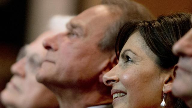 Anne Hidalgo, candidate PS à la mairie de Paris, le 28 mai 2013 dans la capitale [Joel Saget / AFP/Archives]
