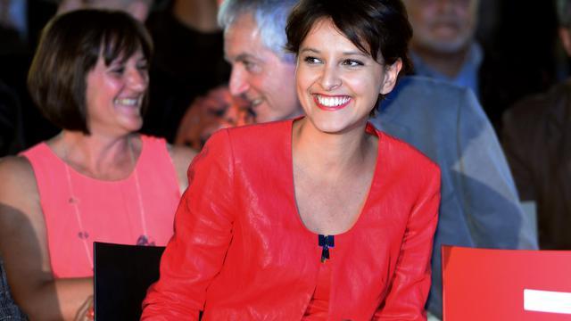 Najat Vallaud-Belkacem, porte-parole du gouvernement, le 29 mai 2013 à Montpellier [Gerard Julien / AFP/Archives]