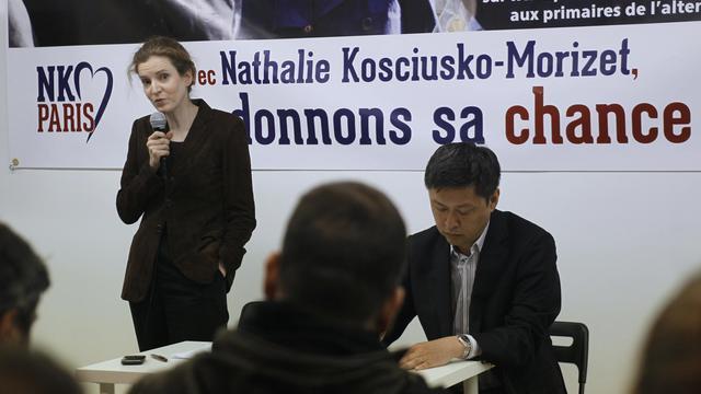 Nathalie Kosciusko-Morizet le 30 mai 2013 à ^Paris [Matthieu Rater / AFP]