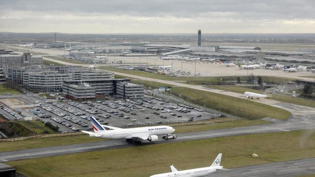 Vue générale de l'aéroport Roissy-Charles de Gaulle, prise le 27 décembre 2012 [Pierre Verdy / AFP/Archives]