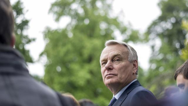 Le Premier ministre Jean-Marc Ayrault, le 31 mai 2013 à Matignon [Fred Dufour / AFP]