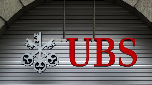 Le logo d'UBS