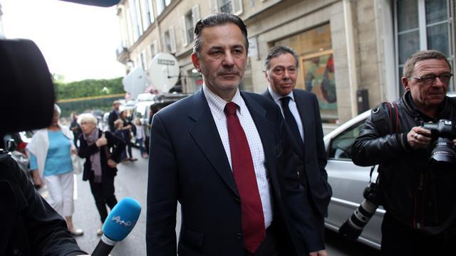 Jean-François Legaret, président du groupe UMP au Conseil de Paris, le 1er juin 2013 à Paris [Thomas Samson / AFP/Archives]