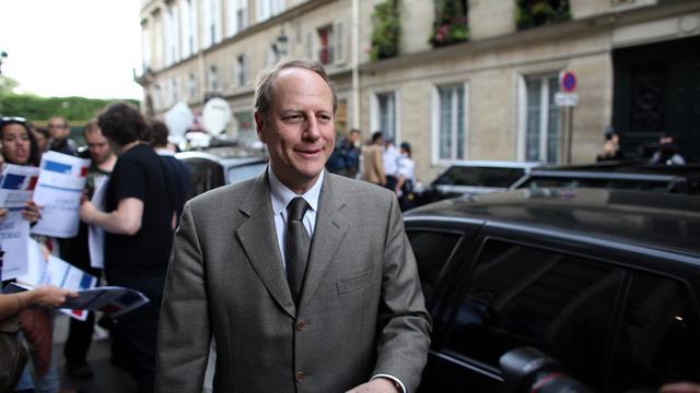 Le président de la fédération UMP de Paris et député-maire du XVe arrondissement Philippe Goujon, le 1er juin 2013 à Paris [Thomas Samson / AFP/Archives]