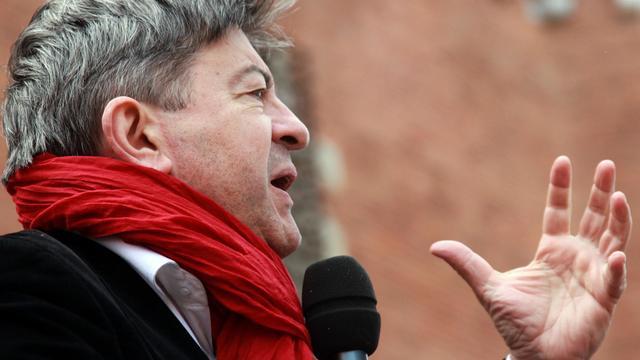 Jean-Luc Mélenchon, coprésident du Parti de Gauche, le 2 juin 2013 à Perpignan [Raymond Roig / AFP/Archives]