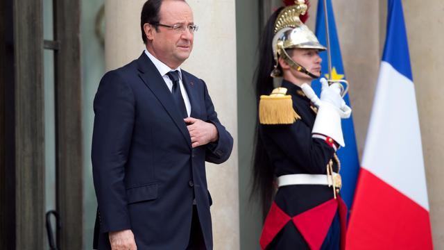 François Hollande à l'Elysée, le 3 juin 2013 [Bertrand Langlois / AFP]