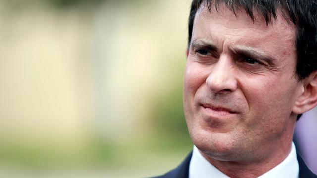 Le ministre de l'Intérieur Manuel Valls le 3 juin 2013 à Bastia [Pascal Pochard Casabianca / AFP/Archives]