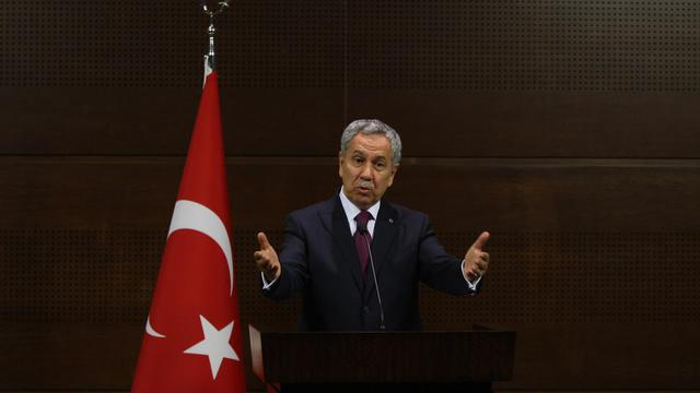Le vice-Premier ministre turc Bulent Arinç, le 4 juin 2013 à Ankara [- / AFP]