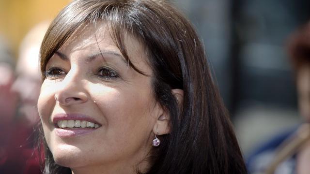 La candidate PS aux municipales à Paris, Anne Hidalgo, le 4 juin 2013 à Paris [Joel Saget / AFP/Archives]