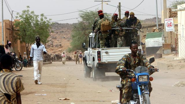 Des soldats maliens à Kidal, le 27 mai 2006 [Kambou Sia / AFP/Archives]