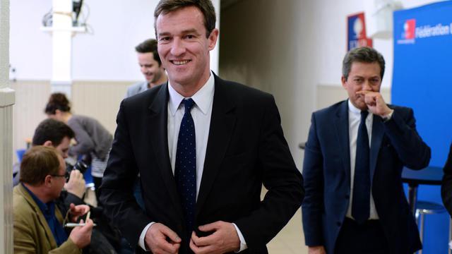 Le modéré Michel Havard (UMP) à Lyon, le 4 juin 2013 [Philippe Merle / AFP/Archives]
