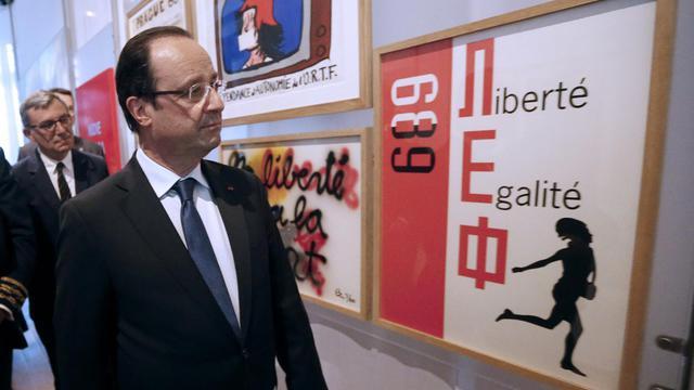 François Hollande inaugure le MuCEM, à Marseille, le 4 juin 2013 [Jean-Paul Pelissier / Pool/AFP]