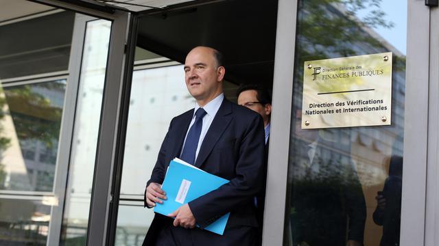 Le ministre de l'Economie Pierre Moscovici, le 6 juin 2013 à Paris [Thomas Samson / AFP/Archives]