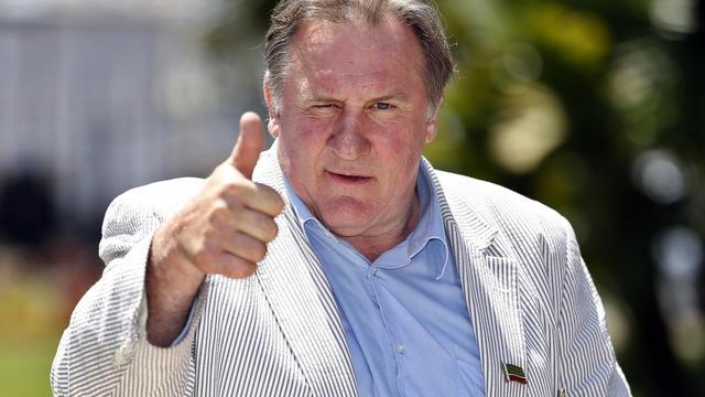 Gérard Depardieu, le 6 juin 2013 à Nice [Valery Hache / AFP/Archives]