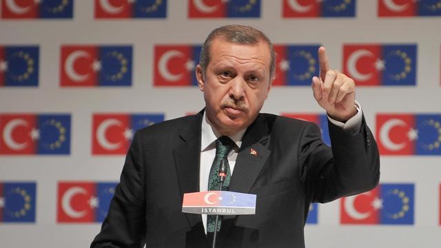 Le Premier ministre turc Recep Tayyip Erdogan, le 7 juin 2013 à Istanbul [ / AFP]