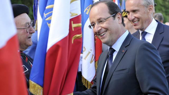 François Hollande, le 9 juin 2013 à Tulle, en Corrèze [Thierry Zoccolan / AFP]