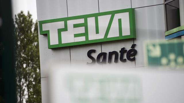 L'usine pharmaceutique Teva de Sens le 10 juin 2013 [Fred Dufour / AFP]
