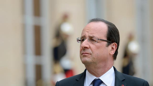 François Hollande, le 10 juin 2013 à l'Elysée [Eric Feferberg / AFP]