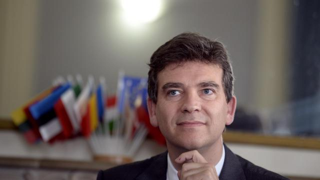 Le ministre du Redressement productif Arnaud Montebourg, à Paris le 12 juin 2013 [Martin Bureau / AFP]