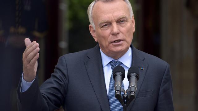 Jean-Marc Ayrault le 14 juin 2013 à Matignon [Bertrand Guay / AFP]