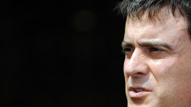 Manuel Valls le 14 juin 2013 à Belrupt-en-Verdunois [Jean-Christophe Verhaegen / AFP]