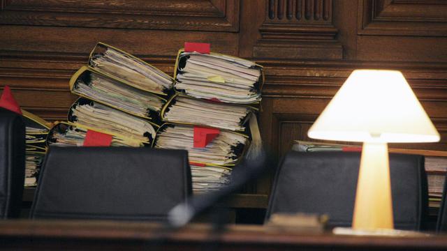Photo prise au palais de justice de Paris [Joel Saget / AFP/Archives]