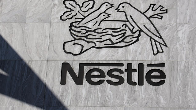 Le logo de Nestlé [Fabrice Coffrini / AFP/Archives]