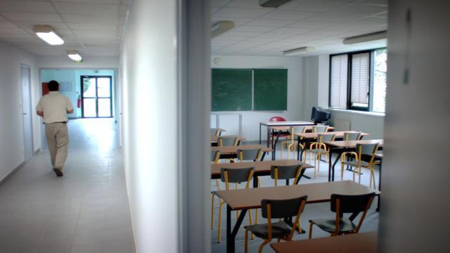 Le couloir d'une école [Martin Bureau / AFP/Archives]