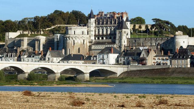 Le château royal d'Amboise, l'un des plus célèbre château de la Loire [Alain Jocard / AFP/Archives]