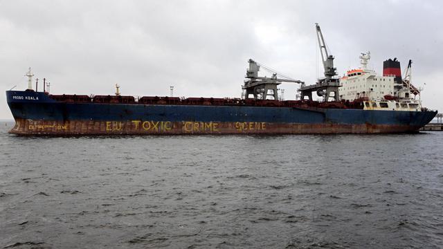 Le cargo Probo Koala amarré à Tallinn, le 28 septembre 2006 [Raigo Pajula / AFP/Archives]