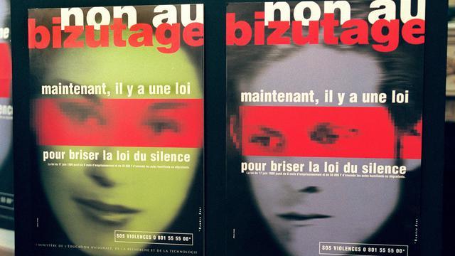 Une campagne de lutte contre le bizutage [Michel Gangne / AFP/Archives]