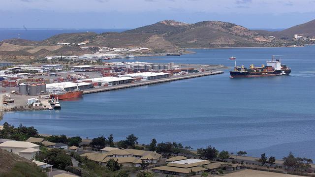 Vue du port de Nouméa [Pascal Guyot / AFP/Archives]