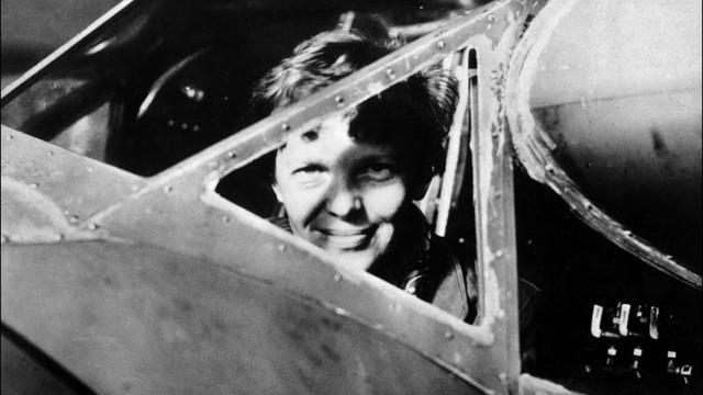 Photo non datée de l'aviatrice Amelia Earhart, disparue dans le Pacifique en 1937 [ / AFP/Archives]