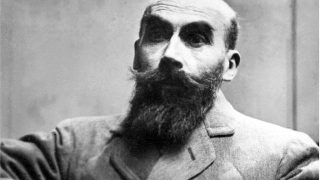 Photo prise en novembre 1921, lors de son procès à Paris, de Henri-Désiré Landru [ / AFP/Archives]