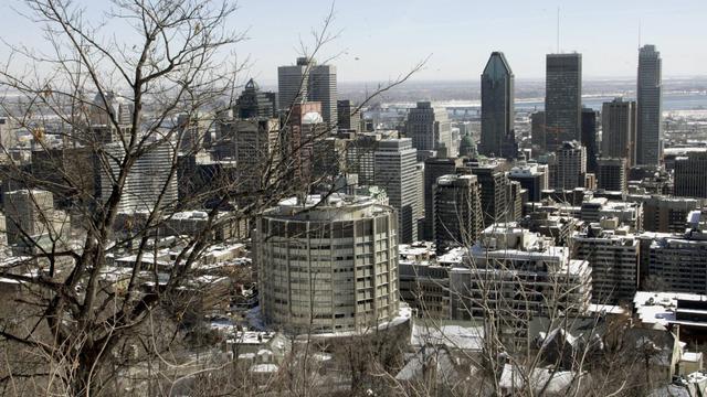 Vue du centre de Montréal [Timothy A. Clary / AFP/Archives]