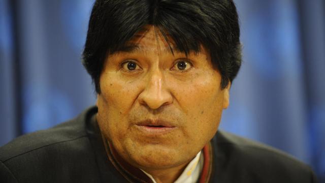 Le président bolivien, Evo Morales, le 22 avril 2009 à New York [Emmanuel Dunand / AFP/Archives]