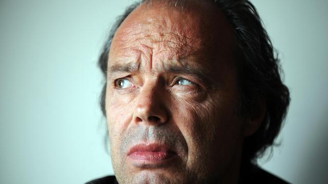 Philippe Djian à Los Angeles, le 15 mai 2012. [Gabriel Bouys / AFP/Archives]