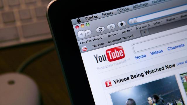 La page d'accueil du site de partage de vidéos Youtube [Loic Venance / AFP/Archives]