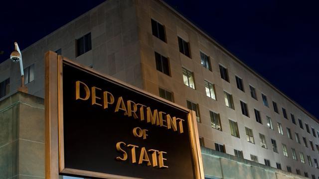 Le Département d'Etat à Washington [Nicholas Kamm / AFP/Archives]